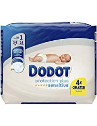 Dodot Protection Plus Sensitive Pañales Talla 1-28 Unidades