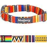 Blueberry Pet Nautical Flags Inspired Designer Basic Dog Collar, Neck 37cm-50cm, Medium, Collars for Dogs, Matching Lead & Harness Available