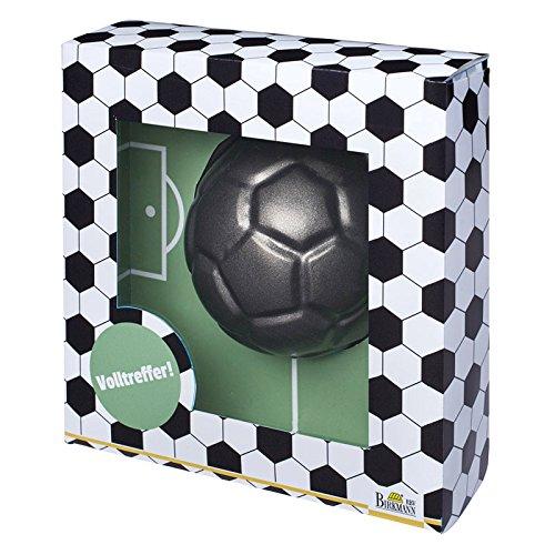 "Backform / Motivbackform ""FUSSBALL"" (8,5 x 4,5 cm / 140 ml) IN GESCHENKVERPACKUNG"