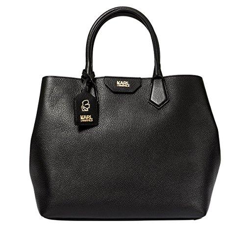 karl-lagerfeld-womens-71kw3079grainy999-black-leather-handbag