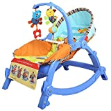 Cheesy Cheeks Toddler's Portable Musical Rocker Cum Baby Chair