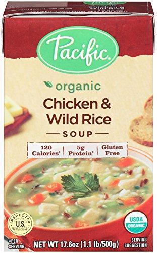 Pacific Foods - Organisches Huhn-und wilder Reis-Suppe - 17.6 Unze. (Pacific Huhn)