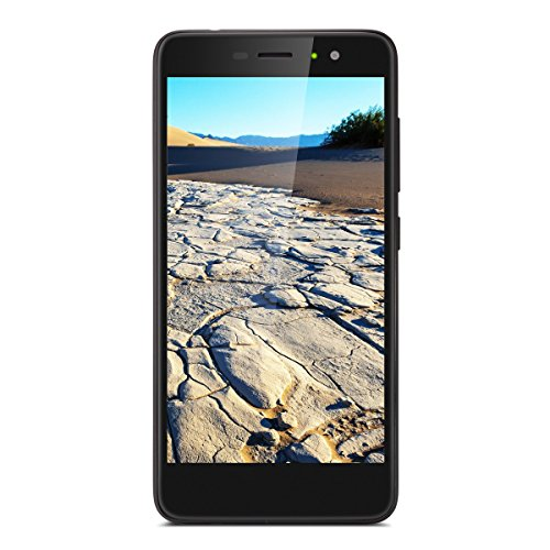 Gigaset GS170 Smartphone (12,7 cm (5 Zoll) Touch-Display, 16 GB Speicher, Android 7.0) schwarz (Mobile Ukw-radio)