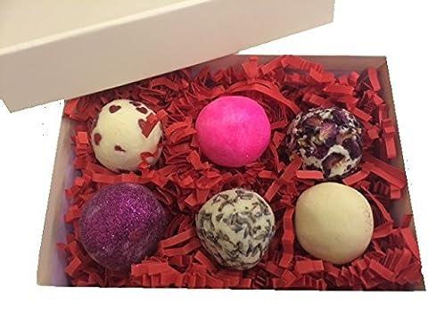 Kakaobutter Bade Trüffel Schmilzt Geschenkbox (6 x 40g) Valentinstag Muttertag Ostern