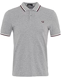 Fred Perry Fp Twin Tipped Fred Perry, Polo para Hombre, Azul