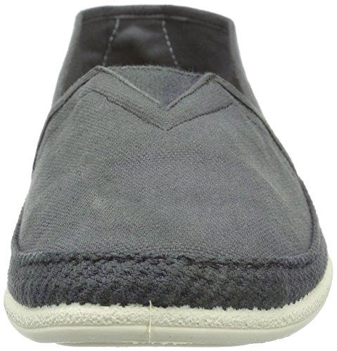 Dozo Herren Slipper, Mocassins homme Gris - Grau (Grey 209)