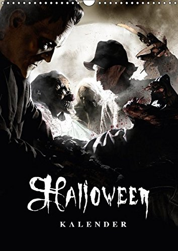 llusionen - Kalender 2018 (Wandkalender 2018 DIN A3 hoch): Halloween Optische Illusionen (Monatskalender, 14 Seiten ) (CALVENDO Spass) [Kalender] [Apr 01, 2017] Sauer, Sven (Halloween 1 2017)