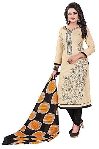 Om Tex Creation Cotton Salwar Kameez Dress Material Unstitched With Cotton Dupatta
