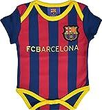 Barça Baby Strampler, offizielle FC-Barcelona-Kollektion. 80 blau
