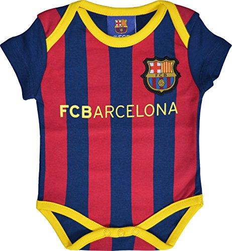 Mono bebé Barça–Colección oficial FC Barcelona, Bebé-Niños, azul, 6 meses