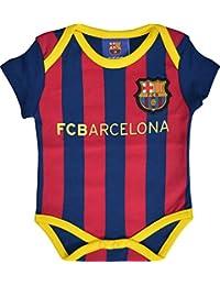 Mono bebé Barça–Colección oficial FC Barcelona, Bebé-Niños, azul, 3 meses