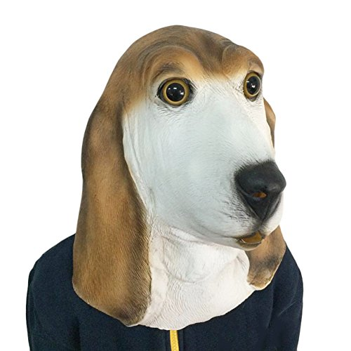 Halloween Maske, HimanJie Scary Maske halloween Latex Mask Halloween Mask Toys Decoration (Hund)