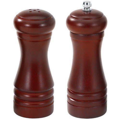 Renberg Wood Salt and Pepper Mill, 2 Pieces