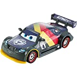 Disney Cars 2 - Coche carbon Max Schnell (Mattel DHM77)