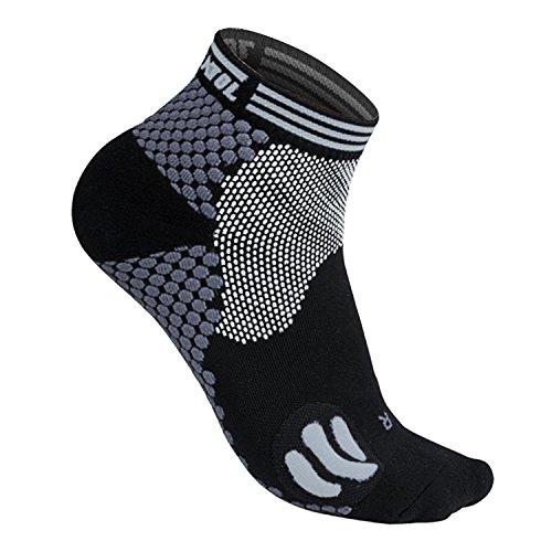 Featol Fußgelenkstütze Sportsocken, Schutzfunktion, Schmerzlinderung und Blutzirkulation behilflich für Männer und Frauen,Kompressionssocken für Männer und Frauen