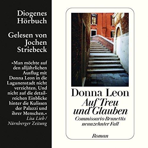 Buchseite und Rezensionen zu 'Auf Treu und Glauben' von Donna Leon