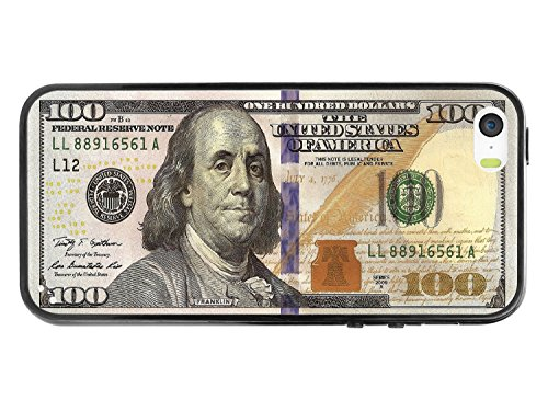 Cellet New One Hundred Dollar Bill Design Proguard Schutzhülle für Apple iPhone 5/5S, Weiß - Case Otter 5s Ipod Box