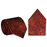 #8: Elite Micro Fiber Formal/ Partywear Multicolour NeckTie For Men's/ Boy's With Pocket Square & Designer Pattern Size - (LxW - 56 x 3) Inches/ Perfect Gift Option for Husband, Father, Friend & Loved One