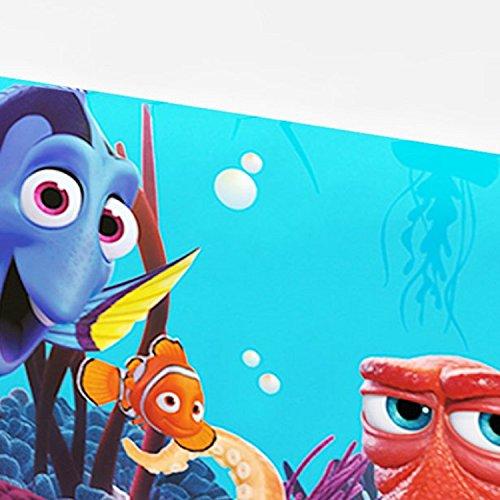Fancy Me Mädchen Jungen Kleinkinder Unterwasser Disney Findet Dory Nemo Seefisch unter dem Motto Geburtstag Party Feier Geschirr Dekorationen Zubehör (Tischtuch)