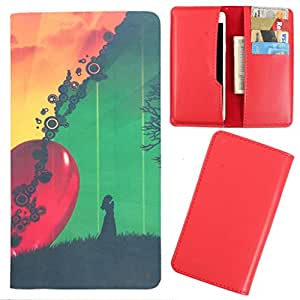 DooDa - For HTC Sensation XL PU Leather Designer Fashionable Fancy Case Cover Pouch With Card & Cash Slots & Smooth Inner Velvet