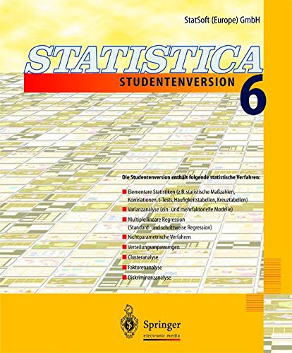 Statistica 6 – Studentenversion