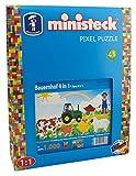 Ministeck 31583–Granja 4en 1, steckplatte, Accesorios, Aprox. de 1000Piezas