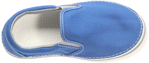 Crocs Hover Sneak Slip On, Jungen Sneaker Blau (Bleu océan/gris clair)