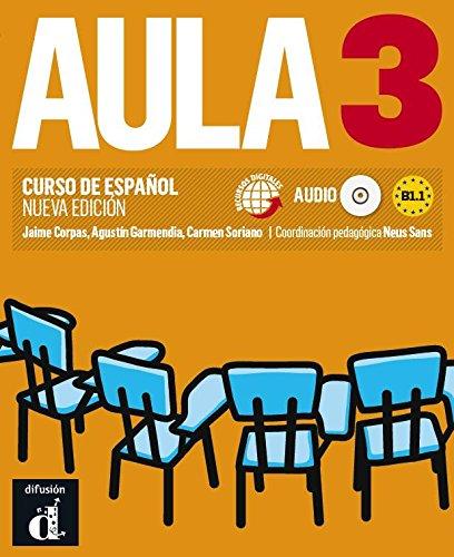 Portada del libro Aula 3 Nueva edición (B1.1) - Libro del alumno (Ele - Texto Español)