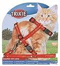 Trixie 41893 Katzengarnitur, Motivband, große Katze, Nylon, 34-57 cm/13 mm