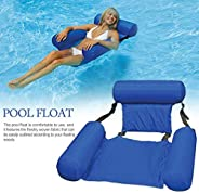 Water Hammock, Pool Lounger Float Hammock Inflatable Rafts Swimming Pool Air Sofa Floating Chair Bed Drifter S