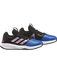 on sale 3f26d f3567 adidas RapidaTurf Ace K - Zapatillas de fútbolpara niños, Negro -  (NegbasFTWBLA