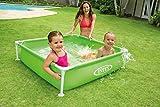 Intex Kinderpool Frame Pool Mini, Grün, 122 x 122 x 30 cm -