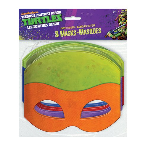 TMNT Party Masks [8 Per -