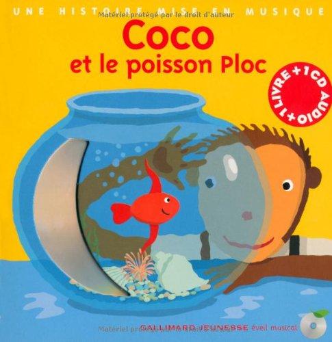 Coco et le Poisson Ploc (1 livre + 1 CD audio)