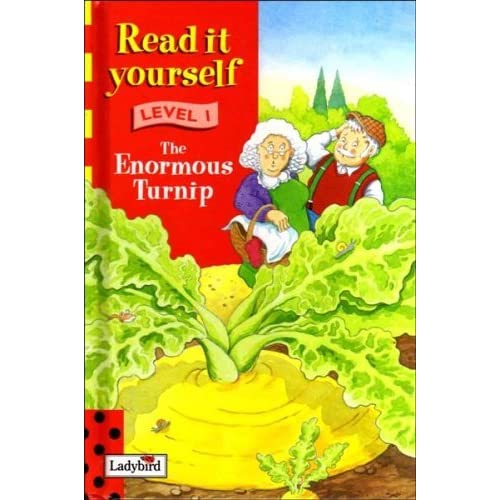 The Enormous Turnip (Ladybird Read It Yourself Level 1) by Stephen Holmes (Illustrator) (18-Apr-1998) Hardcover