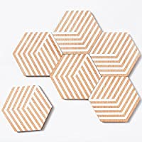 Table Tiles Optic Set of 6by Bower for Areaware