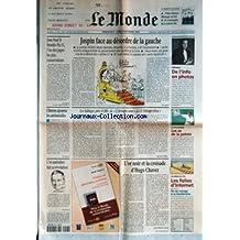 MONDE (LE) [No 17296] du 03/09/2000 - JOSPIN FACE AU DESORDRE DE LA GAUCHE - JEAN PAUL II BEATIFIE PIE IX, L'UN DES PAPES LES PLUS CONSERVATEURS - PERPIGNAN - DE L'INFO EN PHOTOS - CLINTON AJOURNE LES ANTIMISSILES - LES SALINGER, PERE ET FILLE, DE L'ATTRAPE-COEUR A L'ATTRAPE-REVES PAR MARTINE SILBER - AU PAYS BASQUE - LES AS DE LA PELOTE - L'OR AUSTRALIEN FAIT SA REVOLUTION - TERRY BURGESS - L'OR NOIR ET LA CROISADE D'HUGO CHAVEZ PAR JEAN-MICHEL CAROIT - LES SERIES DE L'ETE -
