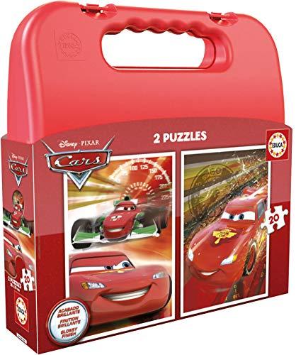 Educa Borrás Maleta con Puzzle Cars 16509