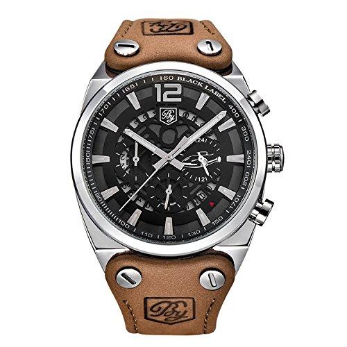 Große zifferblatt design Chronograph Sport Herren Uhren Mode Marke Military wasserdicht Quarzuhr Uhr Relogio Masculino