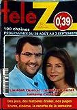 TELE Z [No 1459] du 23/08/2010 - LAURENT OURNAC ET JENNIFER LAURET DANS CAMPING PARADIS