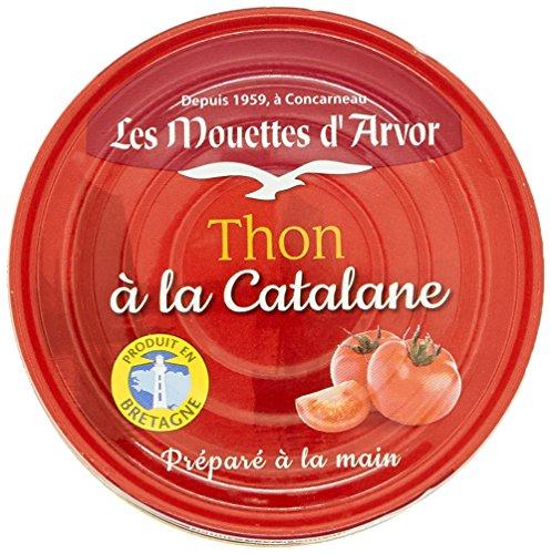 Les Mouettes d'Arvor Thon à la Catalane 190 g - Lot de 6
