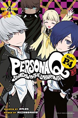 Preisvergleich Produktbild Persona Q: Shadow of the Labyrinth Side: P4 Volume 4 (Persona Q P4,  Band 4)