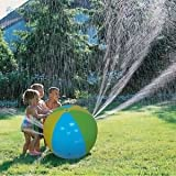 Best Water Sprinkler For Kids - SLB Works Brand New Inflatable Water Spray Ball Review