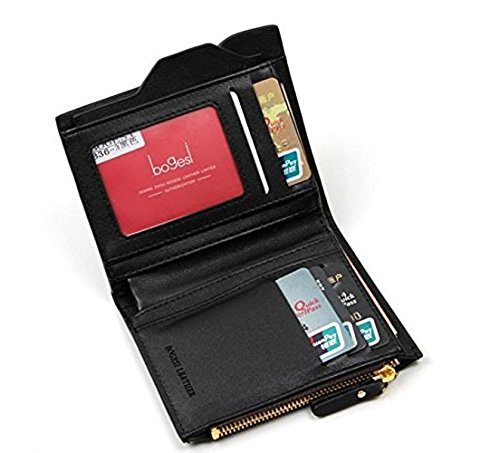 Al Fascino Bogesi Black PU Leather Wallet / Purse For Men