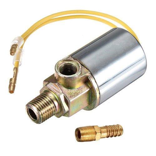 ulable 12V 24V Zug Spurweite Air Horn Elektro Magnetventil Heavy Duty 1/10,2cm chrom