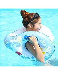 8 palabras nadador adulto espesamiento círculo círculo masculino y femenino inflable vida boya flotante multifunción aumento , south korea 8 word circle blue