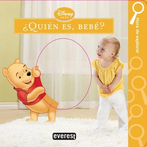 Portada del libro ¿Quién es, bebé?: Hora de explorar (Libros de cartón Disney)