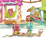 Hatchimals CollEGGtibles - Tropical Party Playset with Lights, Sounds and Exclusive Season 4 Hatchimals CollEGGtibles, for Ages 5 and Up