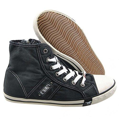 Mustang 4058504, Baskets mode homme Noir