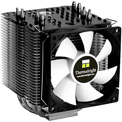 Thermalright Macho 90 Procesador Enfriador - Ventilador de PC (Procesador, Enfriador, Socket B (LGA 1366), Socket H (LGA 1156), Socket H2 (LGA 1155), Socket H3 (LGA 1150), Socket LGA 115, AMD A, AMD C, AMD E, AMD E2, AMD FX, 92 x 25 x 92 mm, Negro, Color blanco)